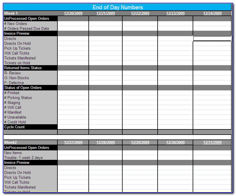 Erp Training Plan Template