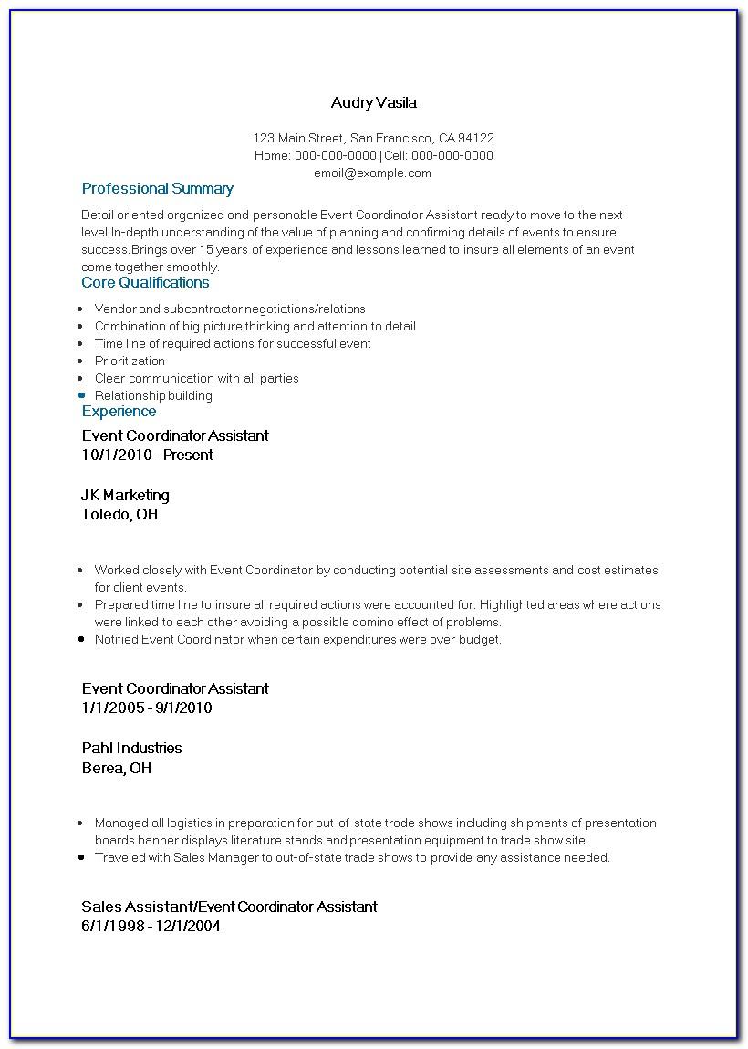 Event Planner Agreement Sample