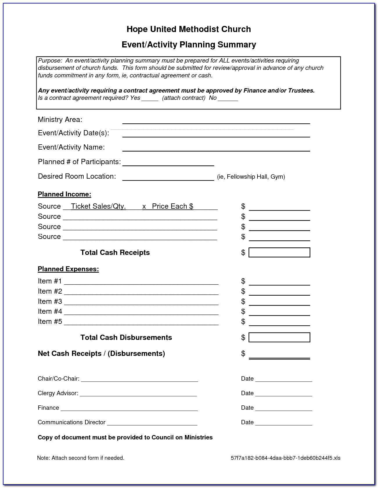 Event Planner Contract Template Free