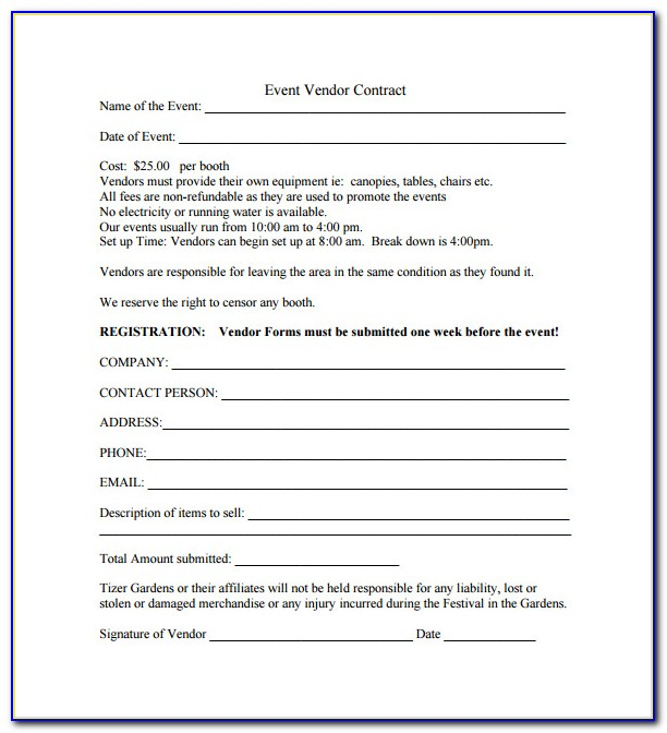 Event Planner Proposal Example