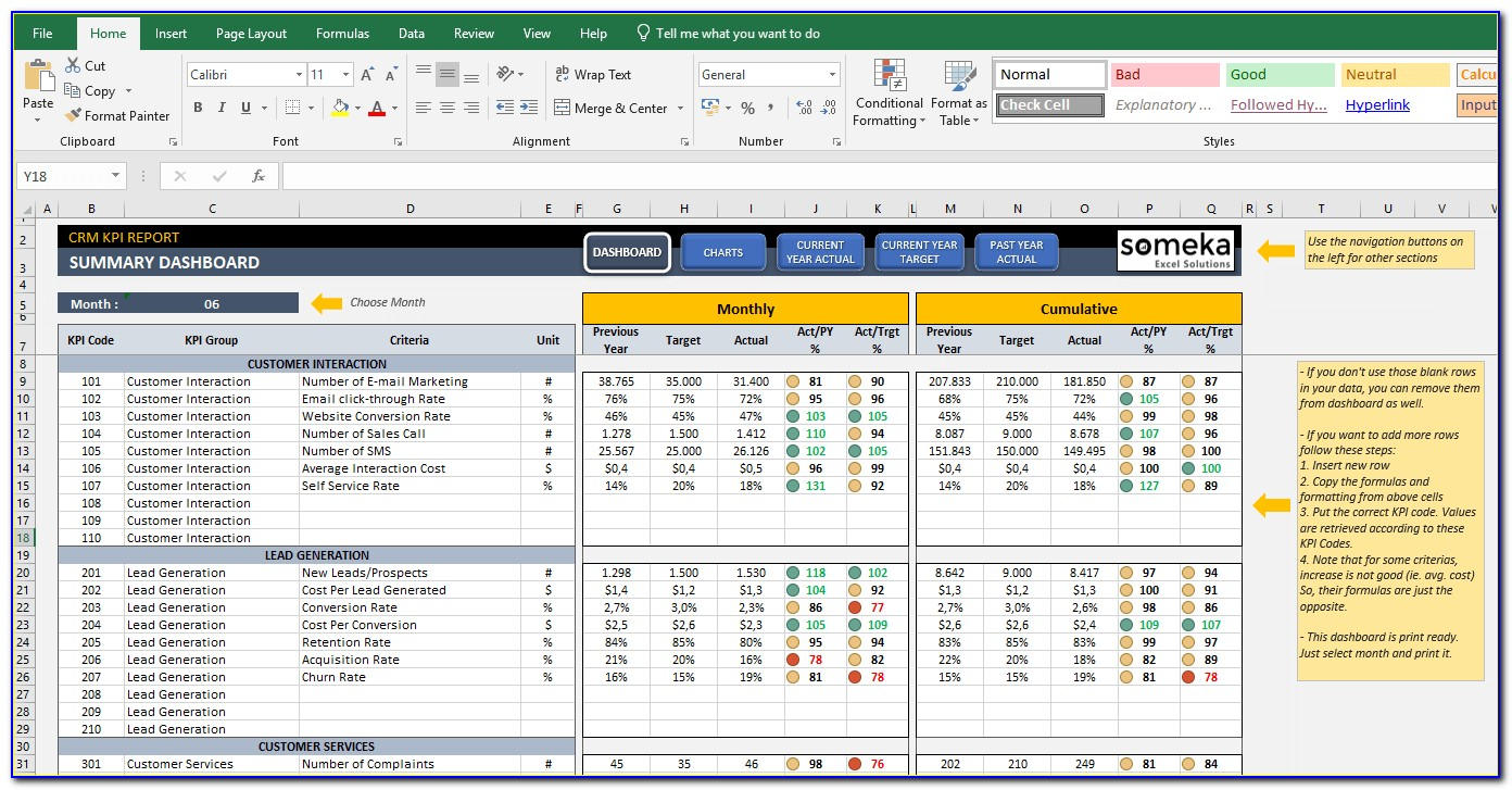 Excel Database Template Free Download