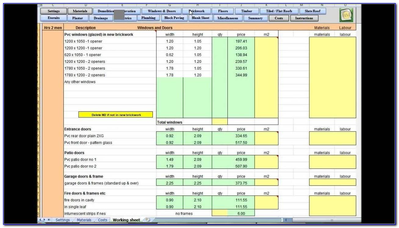 Excel Employee Scheduling Template