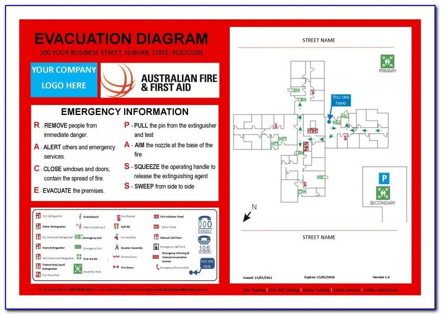 Fire Evacuation Procedure Template Nz