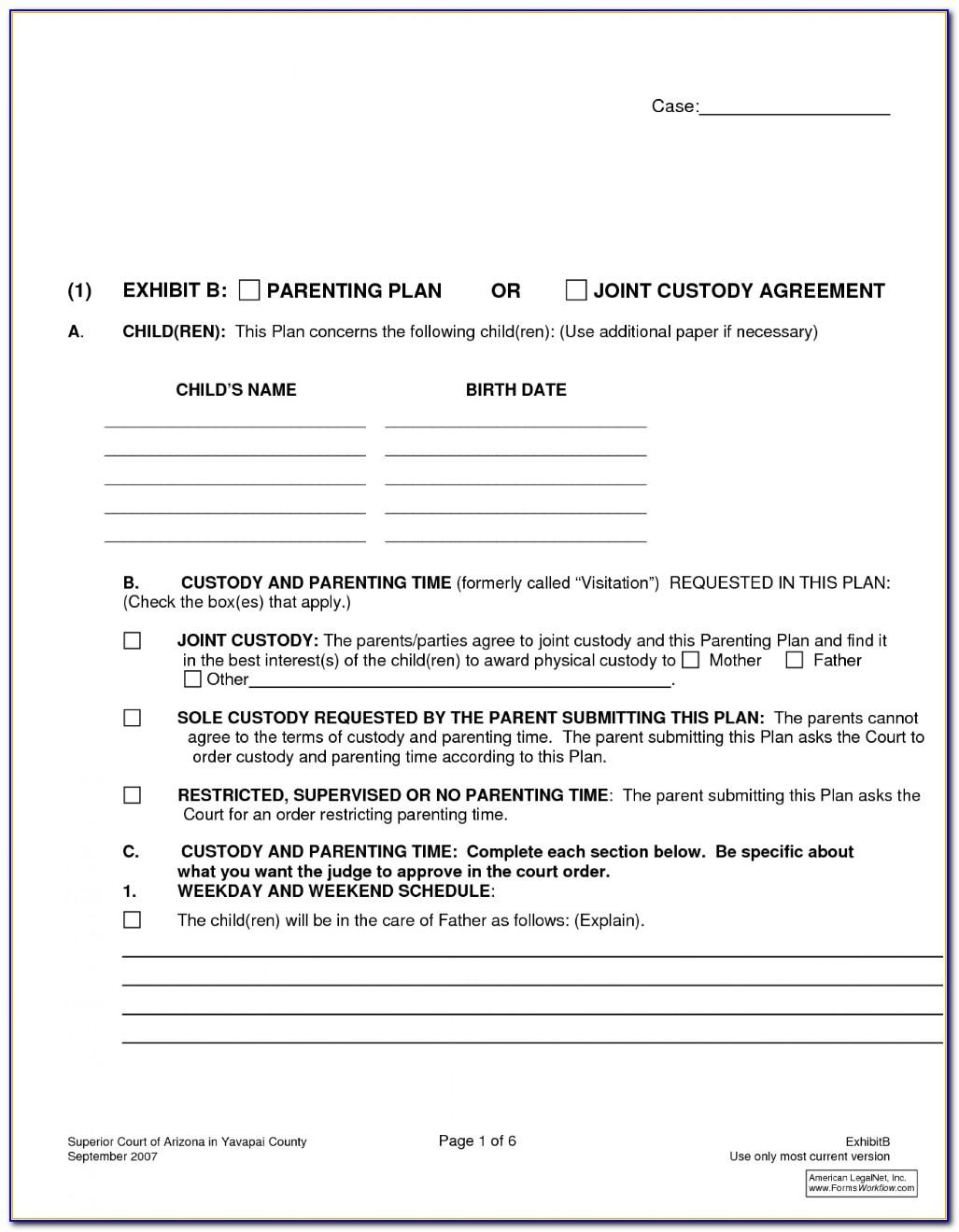 Free Divorce Settlement Agreement Template South Africa