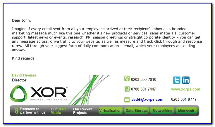 Best Email Signature Design Outlook