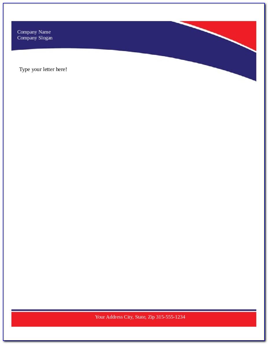 Business Letterhead Format Pdf