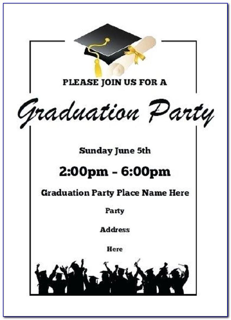 College Graduation Announcement Wording For Newspaper