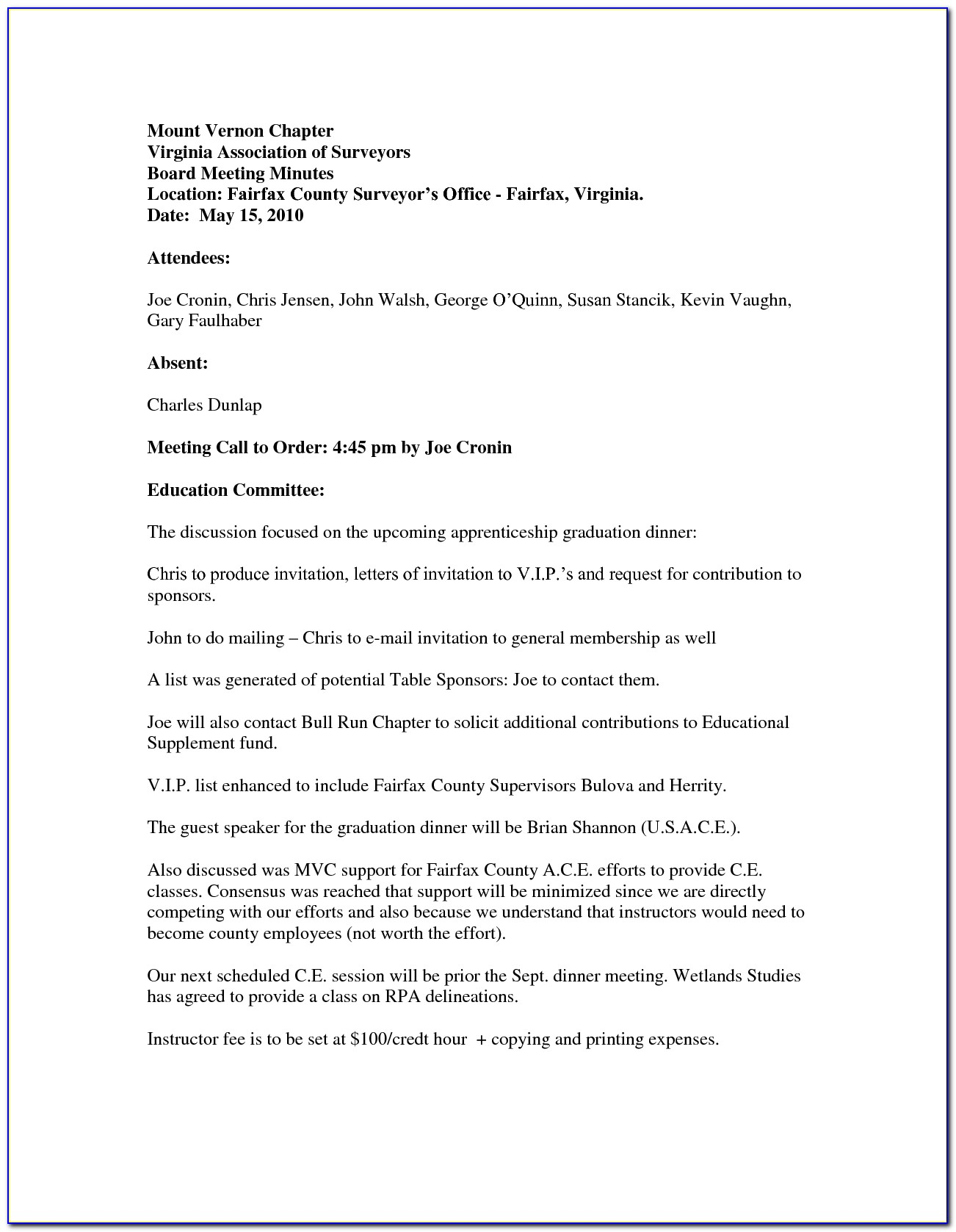 Company Dinner Invitation Email Template