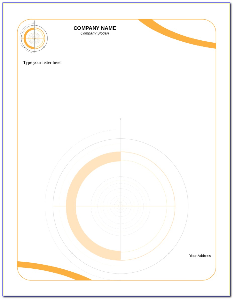 Company Letterhead Samples Free Download