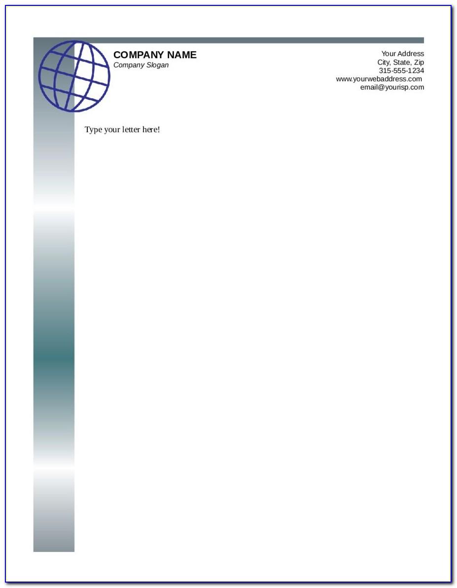 Company Letterhead Template Download