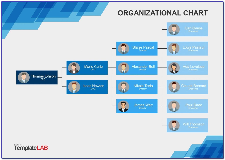 Company Organisation Chart Sample