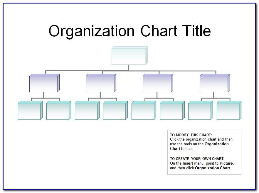 Company Organization Chart Sample