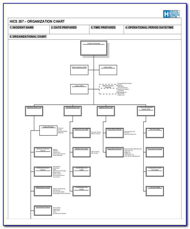 Company Organizational Structure Sample