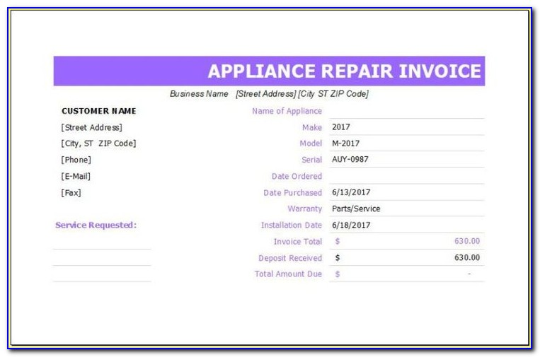 Consignment Invoice Template Free