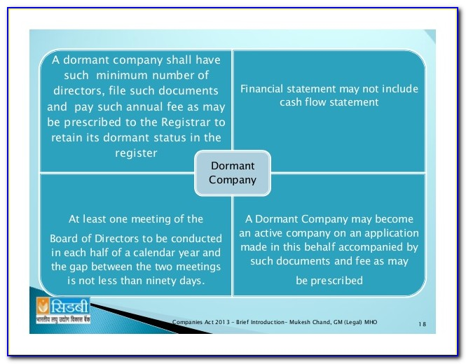 Consolidated Financial Statements Format Companies Act 2013