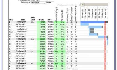 Construction Timeline Schedule Template