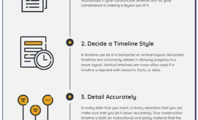 Construction Timeline Template Mac