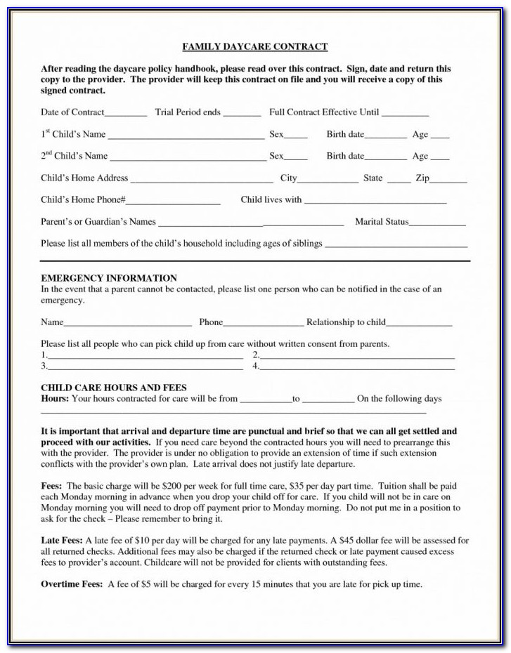 Contract For Deed Template Missouri