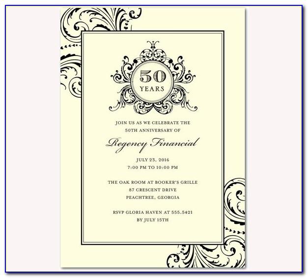 Corporate Dinner Invitation Wording Samples