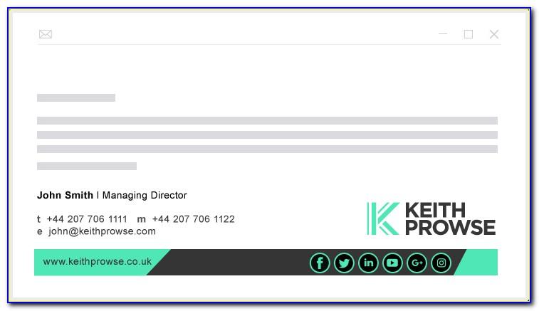 Creative Email Signature Designs