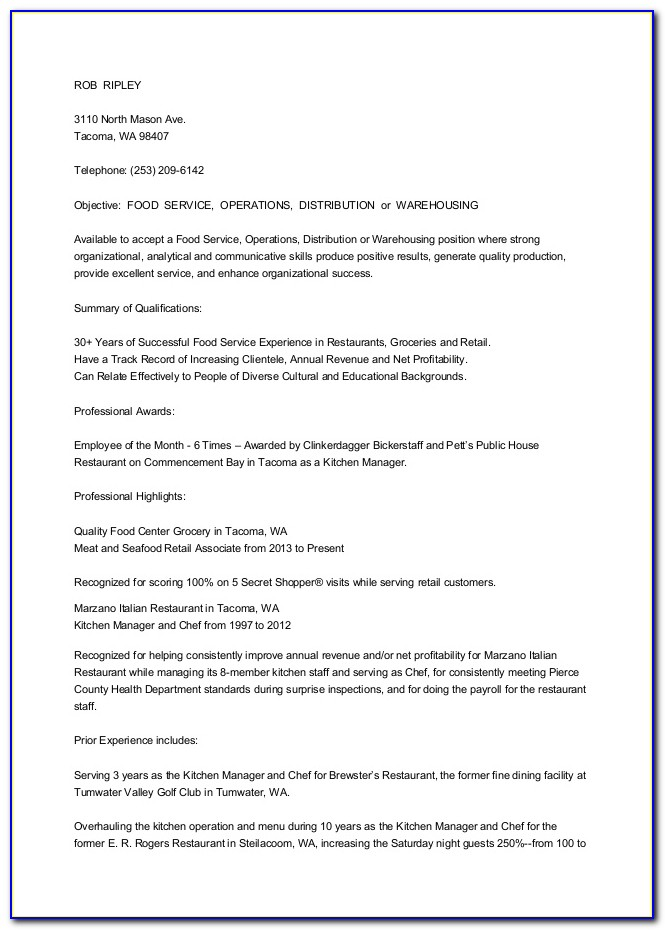 Cut And Paste Resume Format