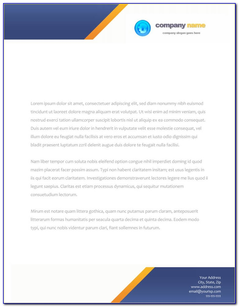 Business Card And Letterhead Templates Free Download
