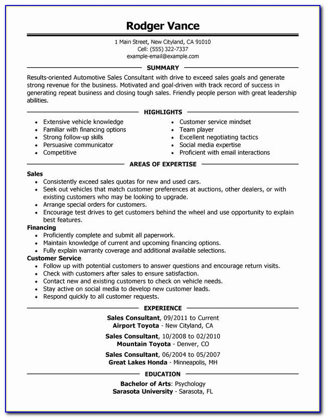 Car Sale Contract Doc