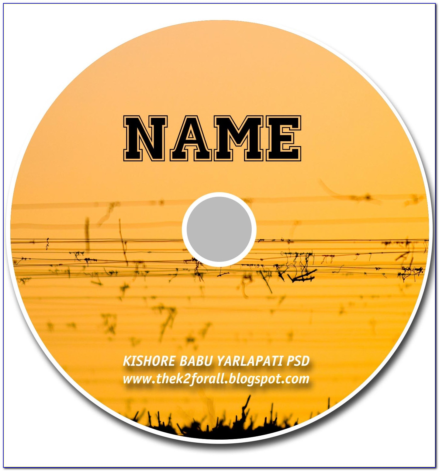 Cd Cover Template For Word