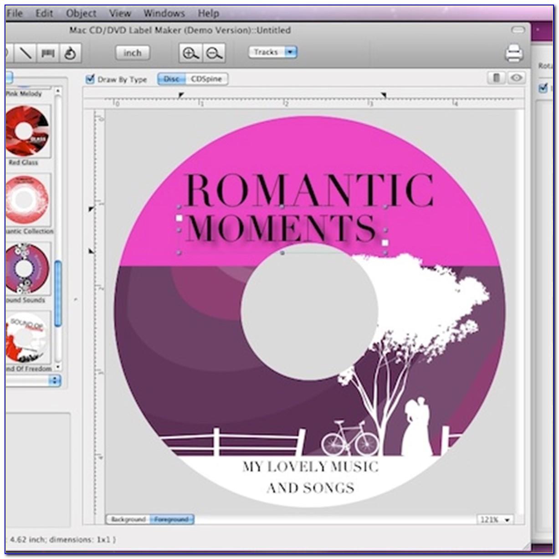 Cd Cover Template Free Mac