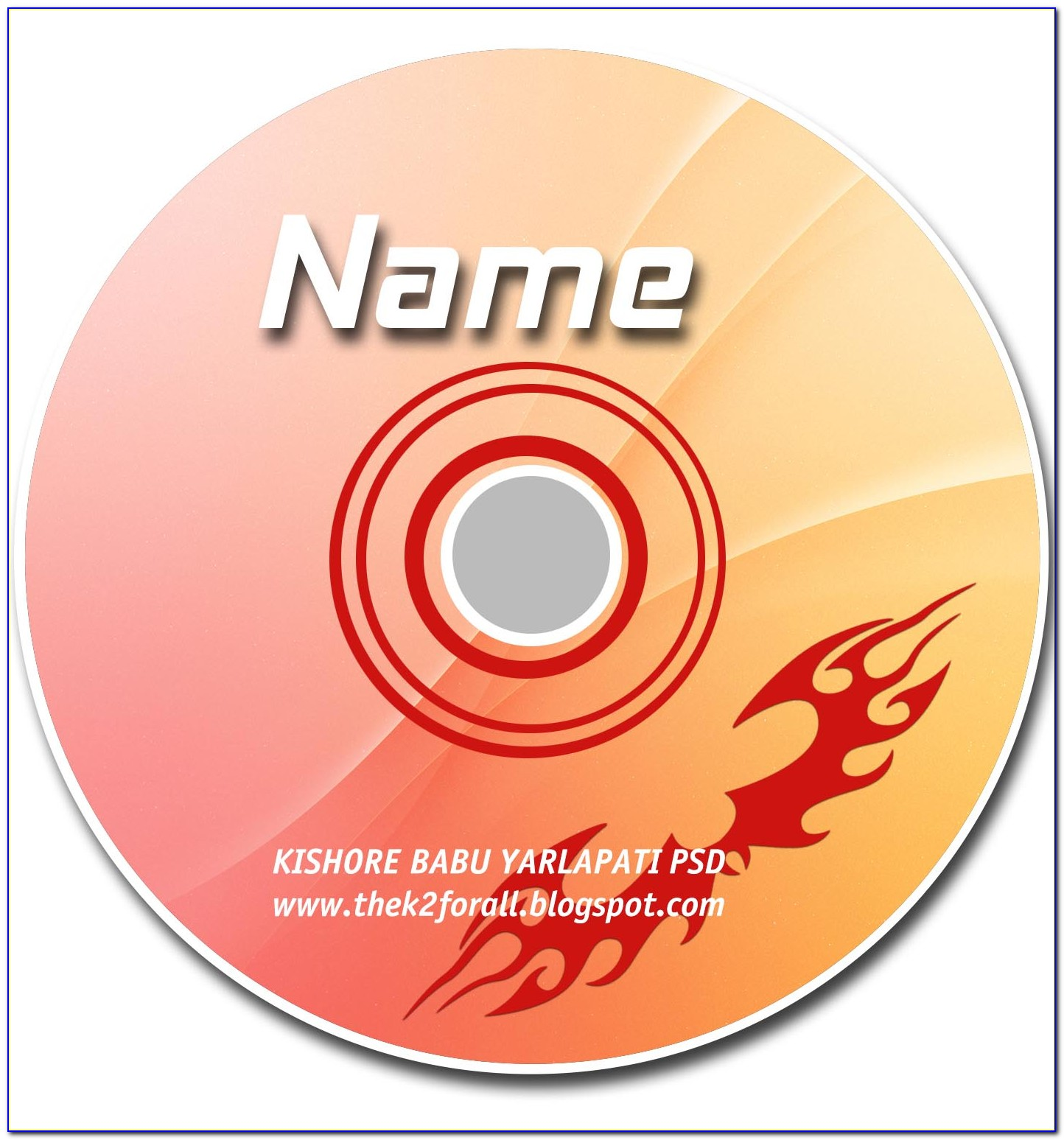 Cd Cover Template Photoshop Download
