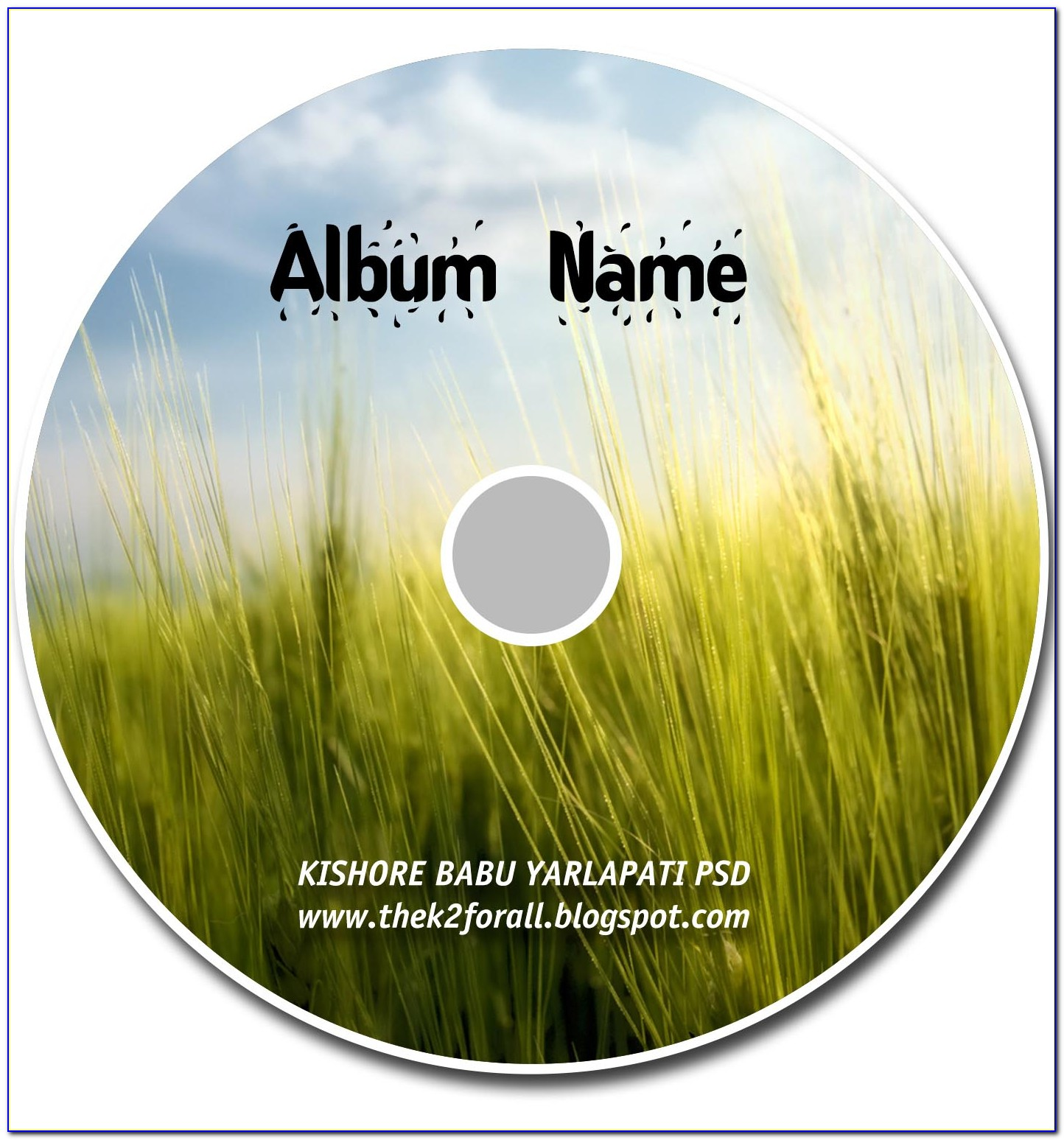 Cd Cover Template Photoshop Free Download