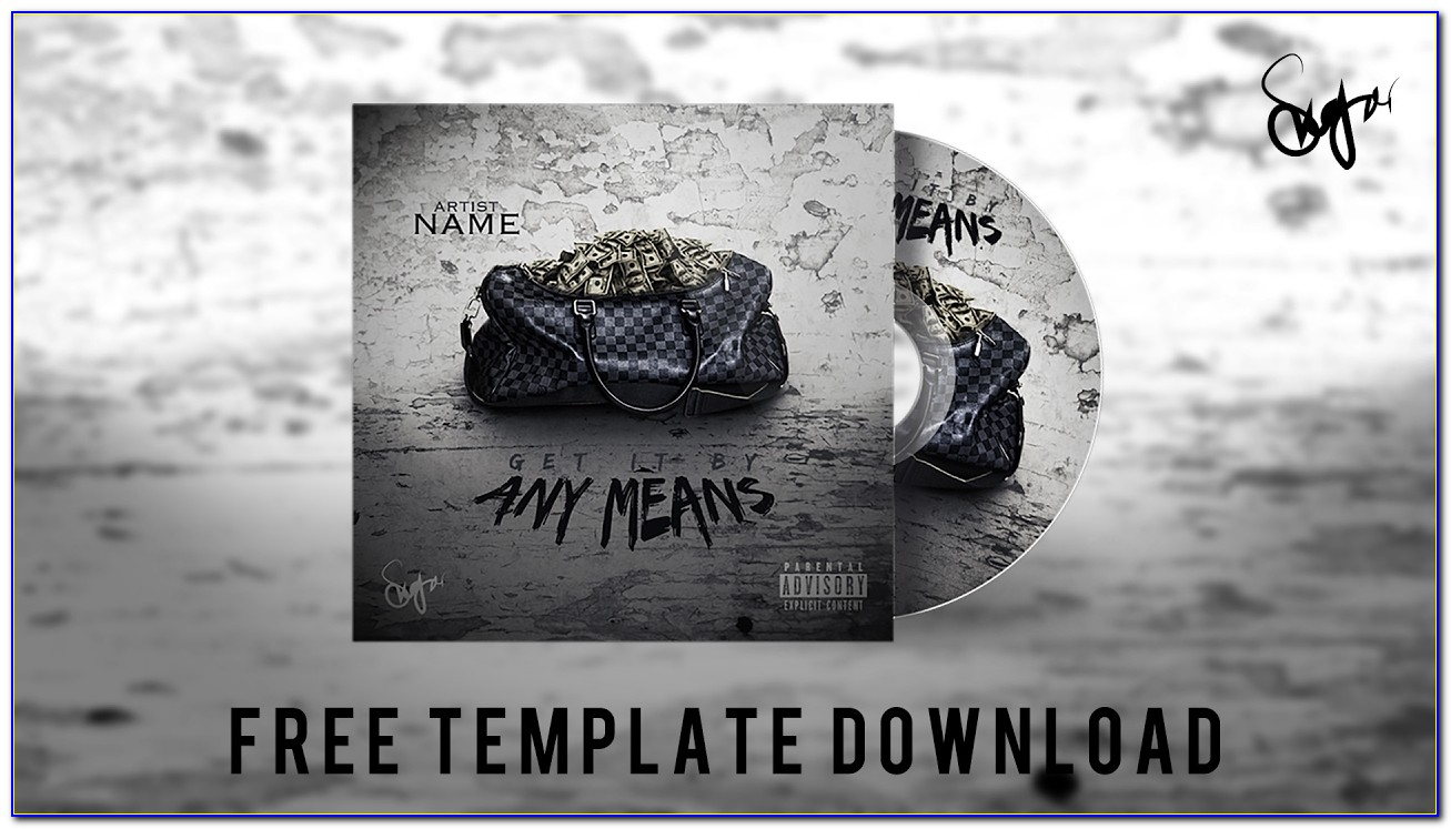 Cd Cover Template Publisher 2013