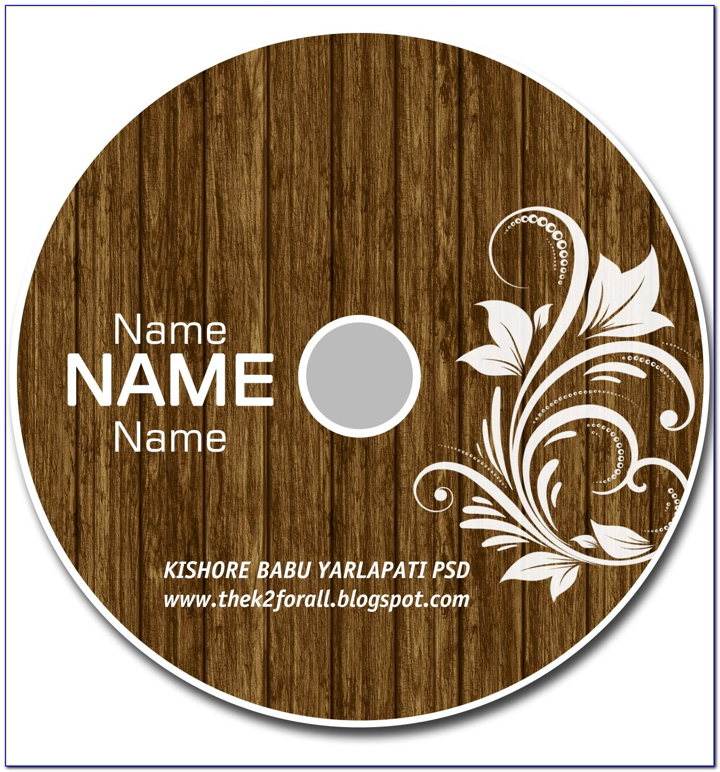 Cd Cover Template Publisher 2016