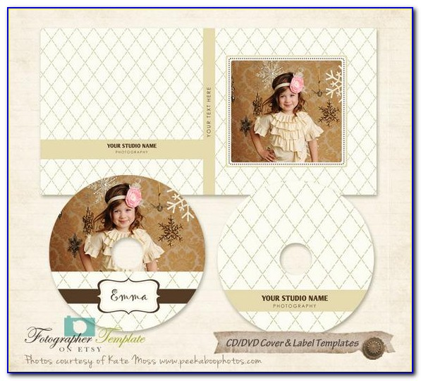 Cd Cover Template Word 2007