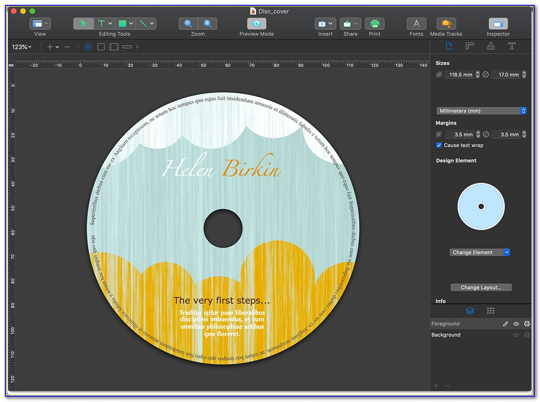 Cd Cover Templates For Macs Pages