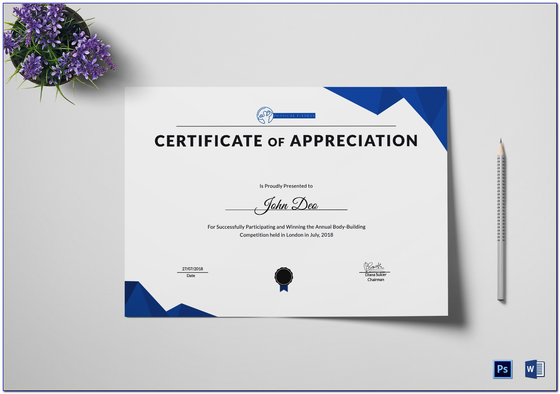 Certificate Of Recognition Templates Free