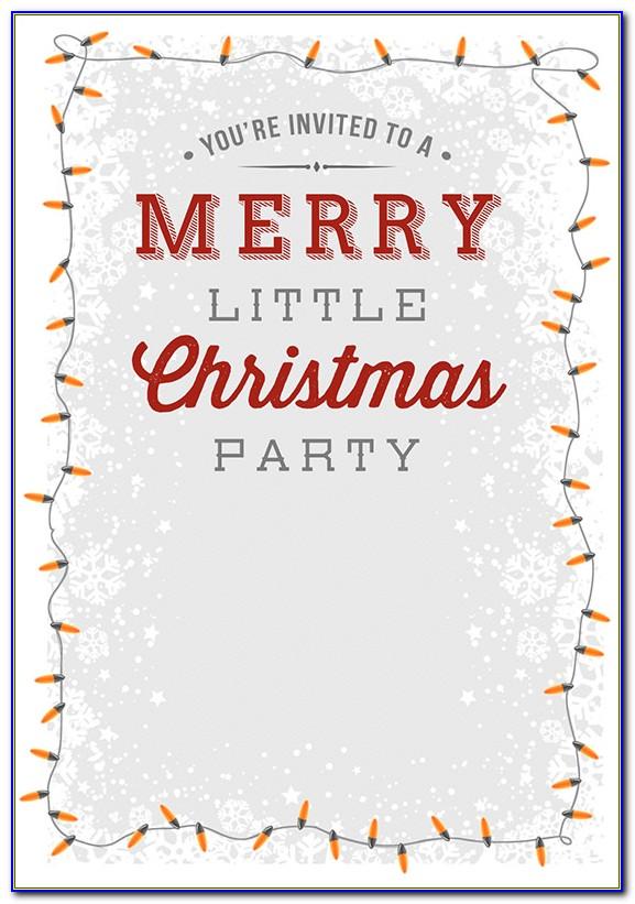 Christmas Holiday Letterhead Templates