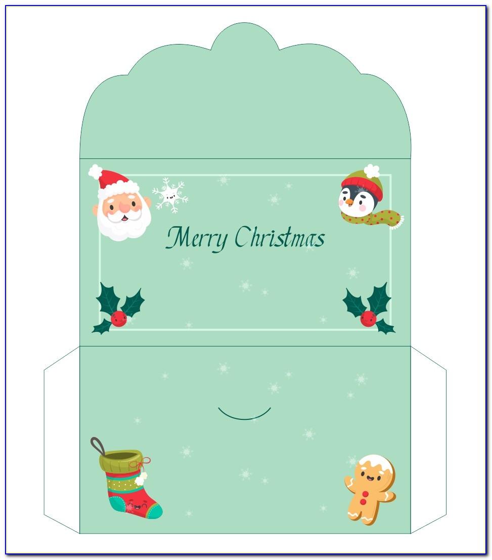 Christmas Money Envelopes Templates