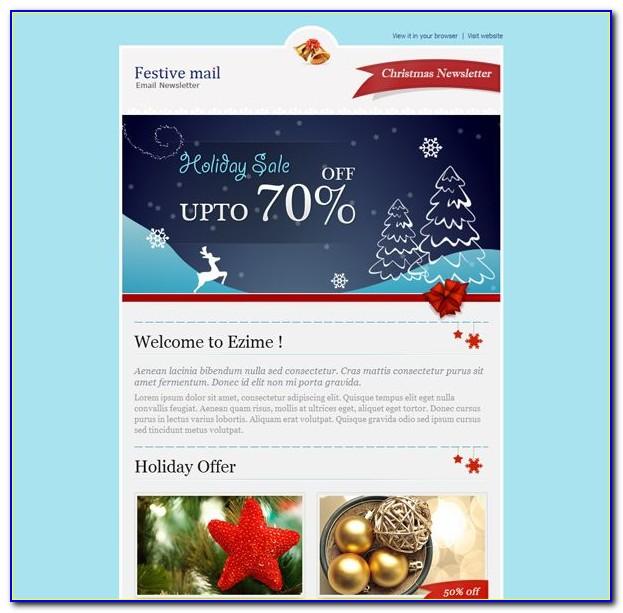Christmas Program Invitation Template