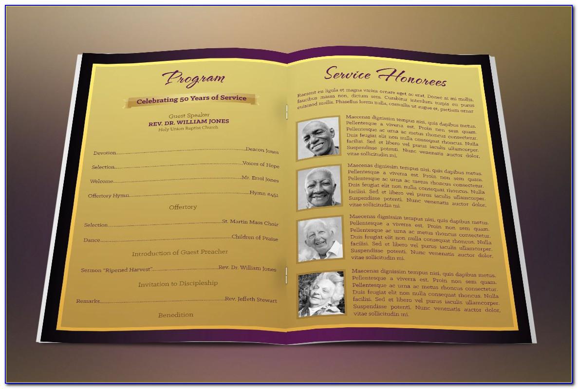 Church Anniversary Invitation Templates