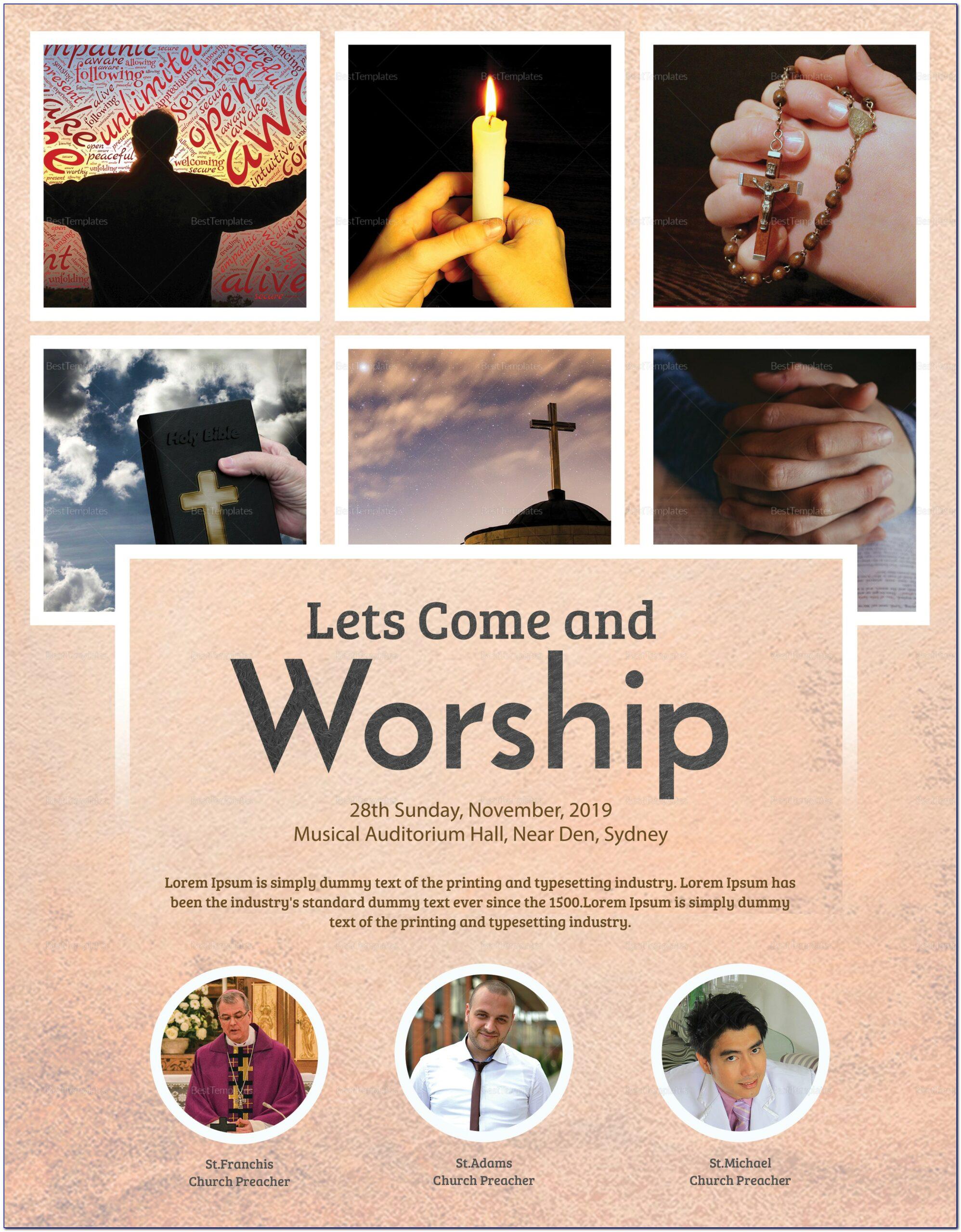 Church Flyer Template Psd Free