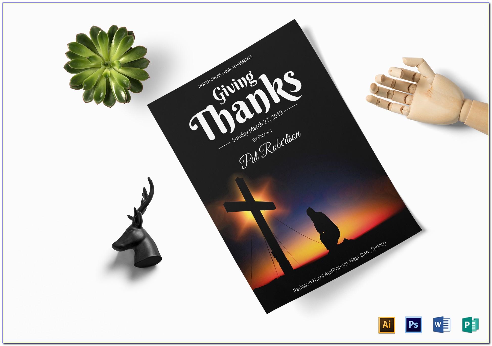 Church Flyer Templates Photoshop