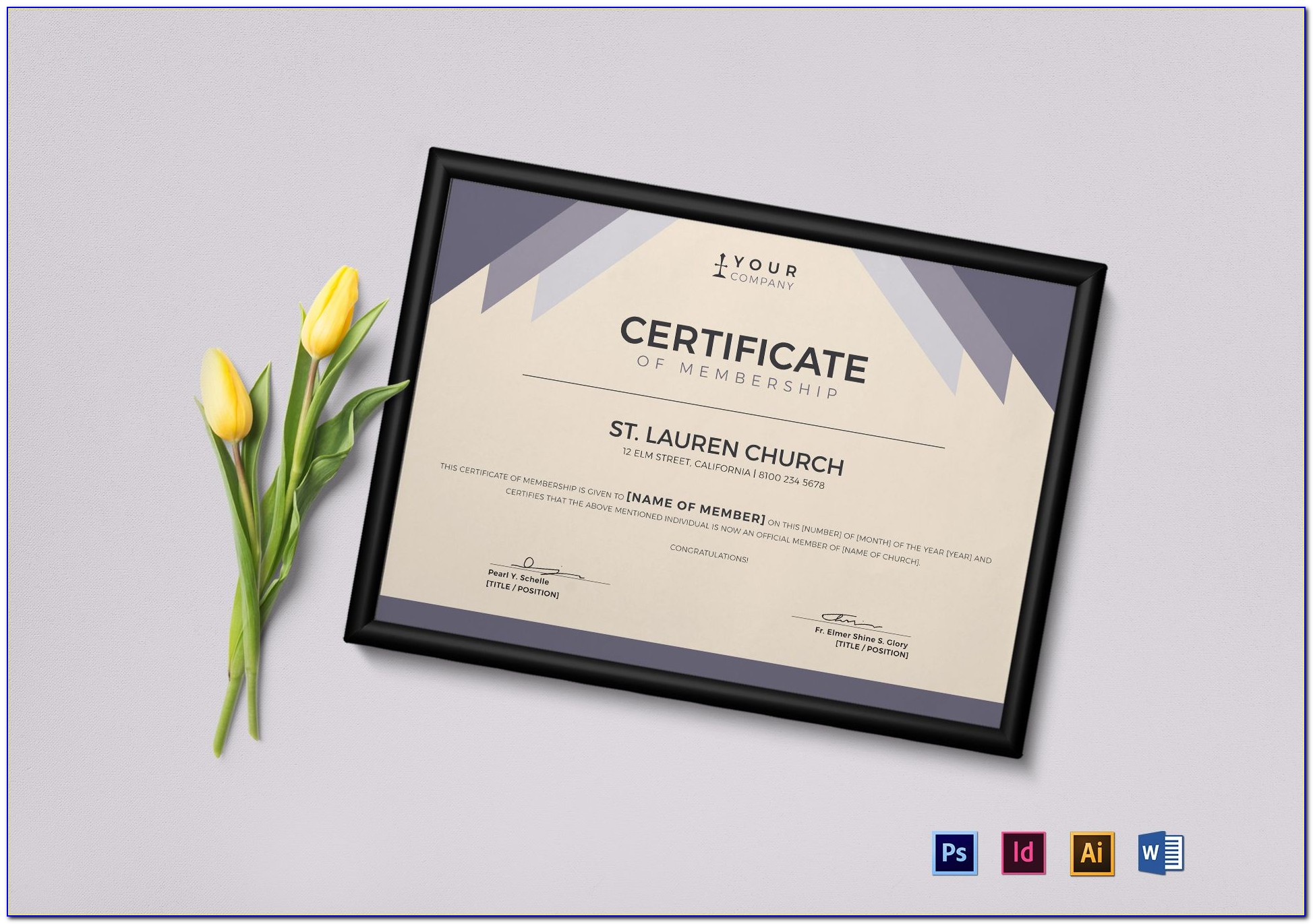 Church Membership Application Template
