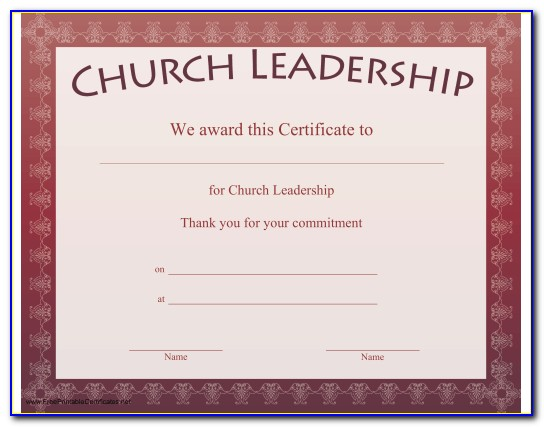 Church Membership Form Template Sample