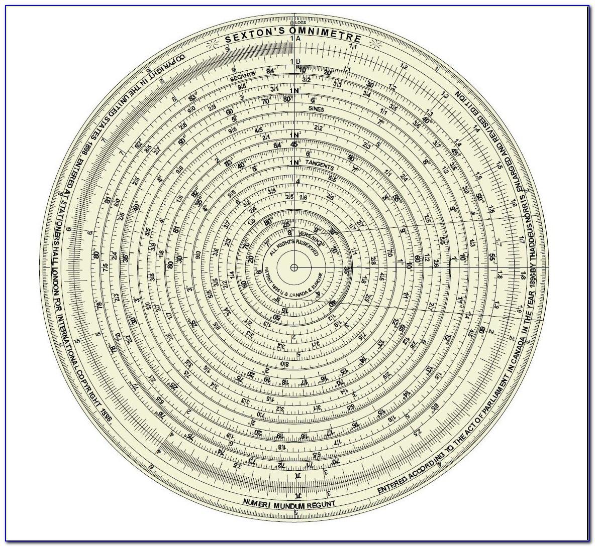 Circular Organisation Chart Template