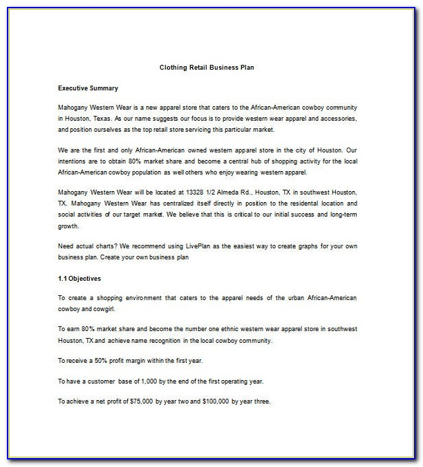 Clothing Consignment Contract Template