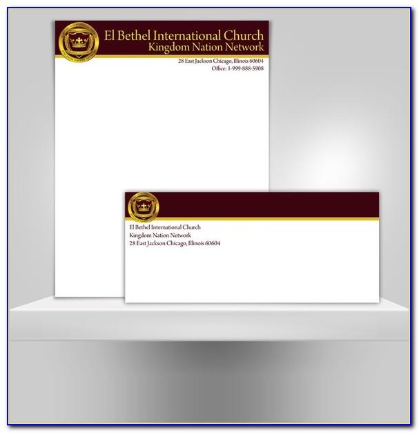 Free Church Letterhead Templates Word