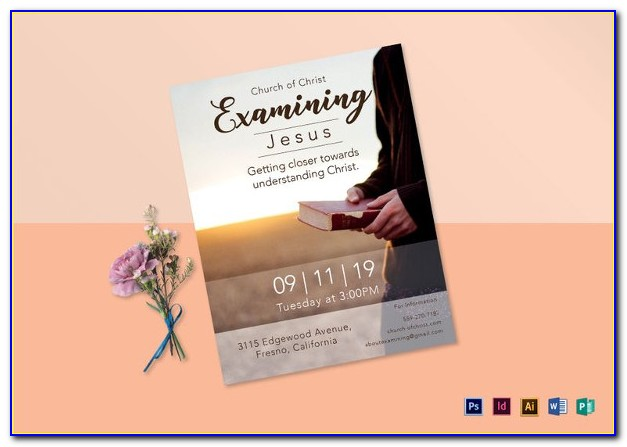 Microsoft Word Church Flyer Template