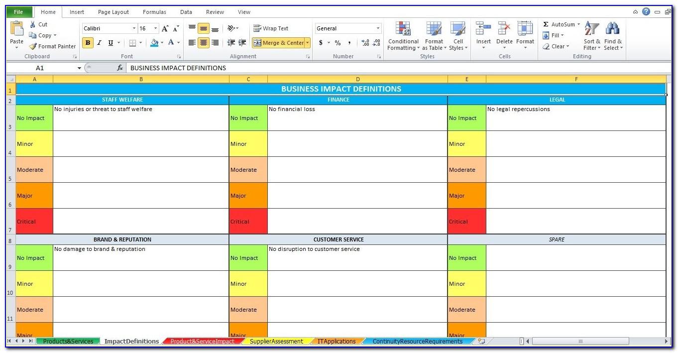 Simple Change Management Plan Template Excel