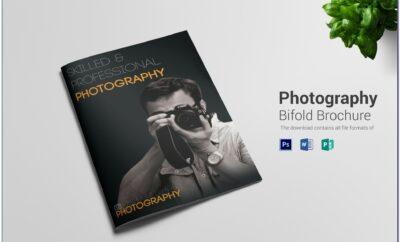 A4 Bi Fold Brochure Template Psd Free Download